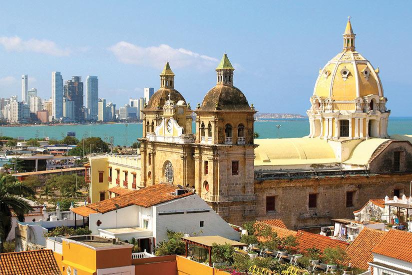 image Colombie Carthagene centre historique  fo