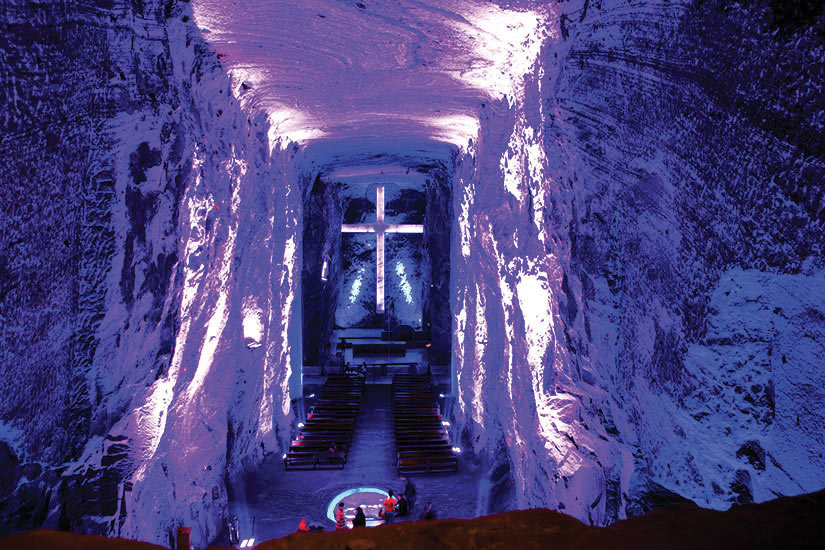 image Colombie Zipaquira Cathedrale de Sal  it