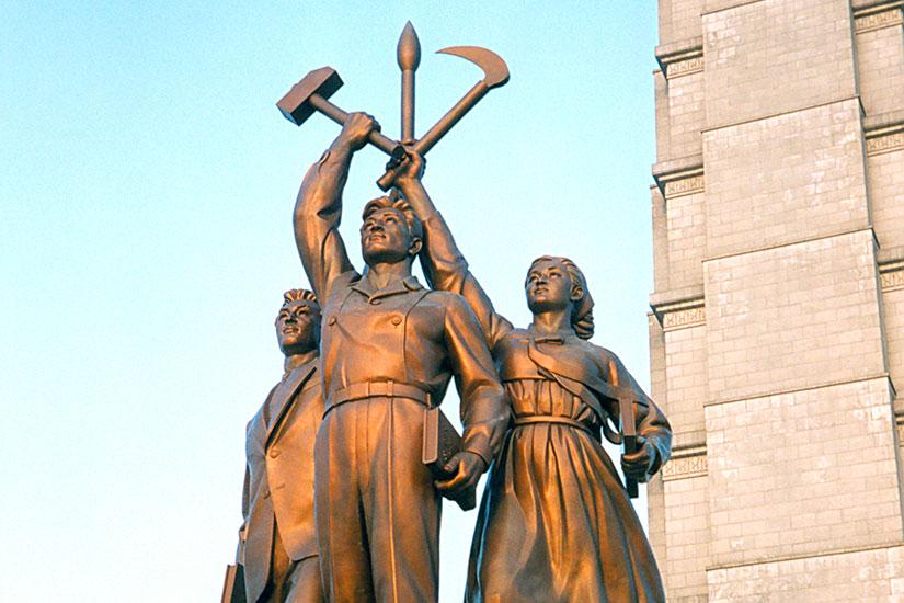 image Coree Nord Pyongyang Tour Juche idee  it