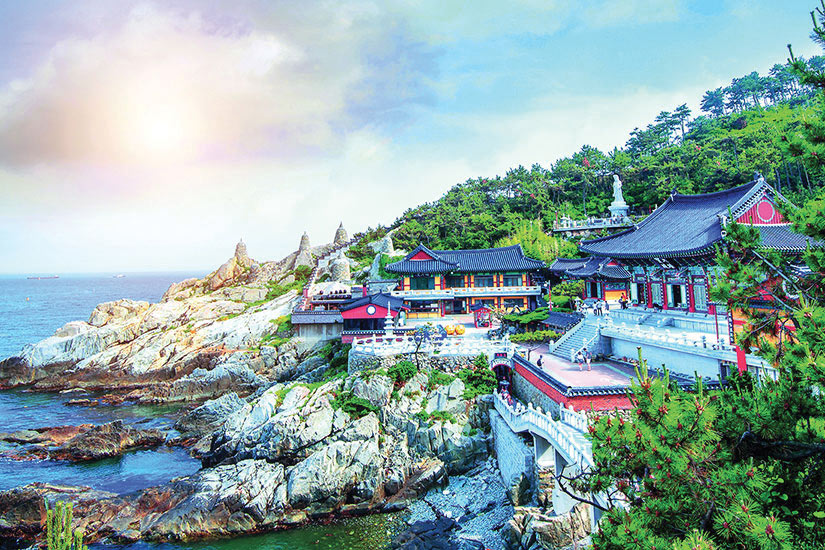 image Coree du Sud Busan Haedong Yonggungsa Temple  it