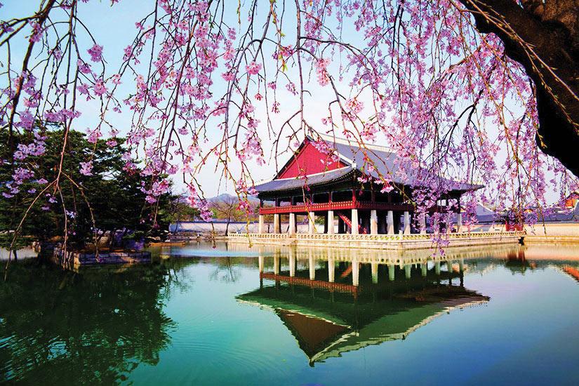 image Coree du Sud Seoul Palais Gyeongbokgung  it