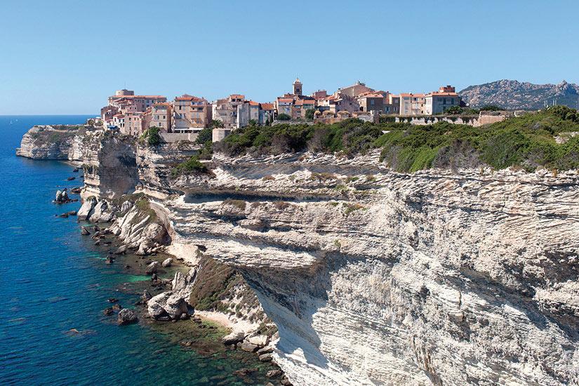 image Corse Bonifacio panorama  it