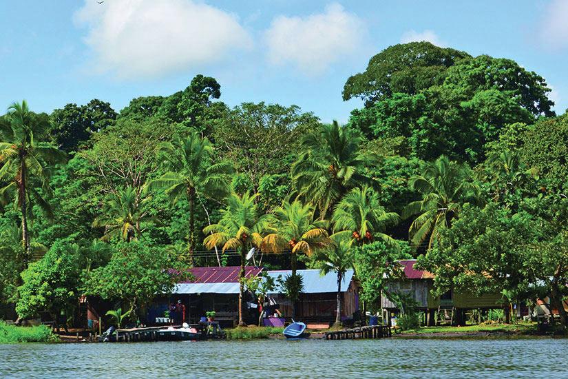 image Costa Rica Tortuguero Panorama  fo