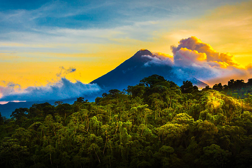 image Costa Rica Volcan Arenal panorama  fo