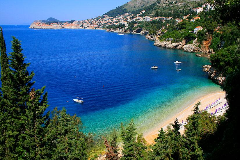 image Croatie Dubrovnik Plage  it