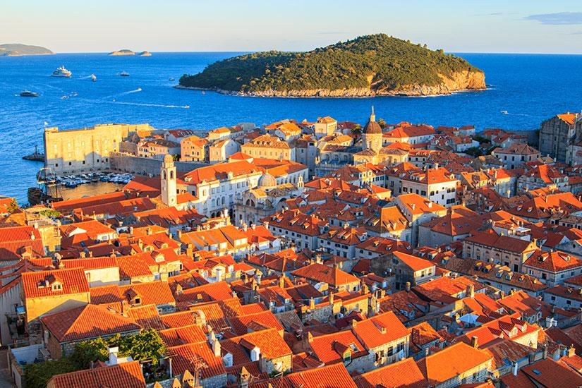 image Croatie Dubrovnik panorama  fo