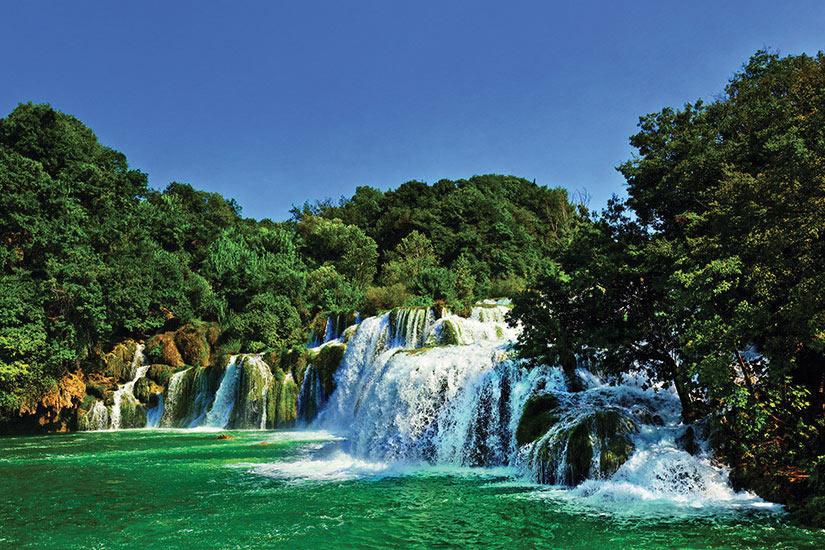 image Croatie Krka Chute eau  fo
