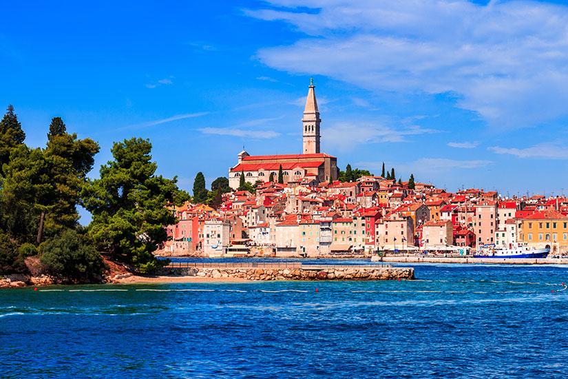 image Croatie Rovinj panorama  fo