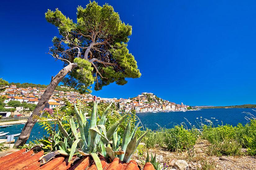 image Croatie Sibenik panorama  fo