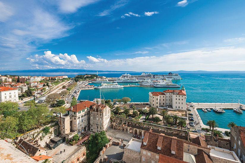 image Croatie Split Panorama  fo
