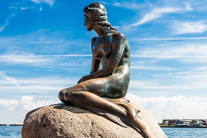 image Danemark Copenhague Petite Sirene  fo