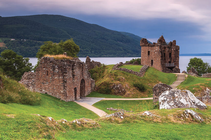 image Ecosse Chateau du Loch Ness  fo