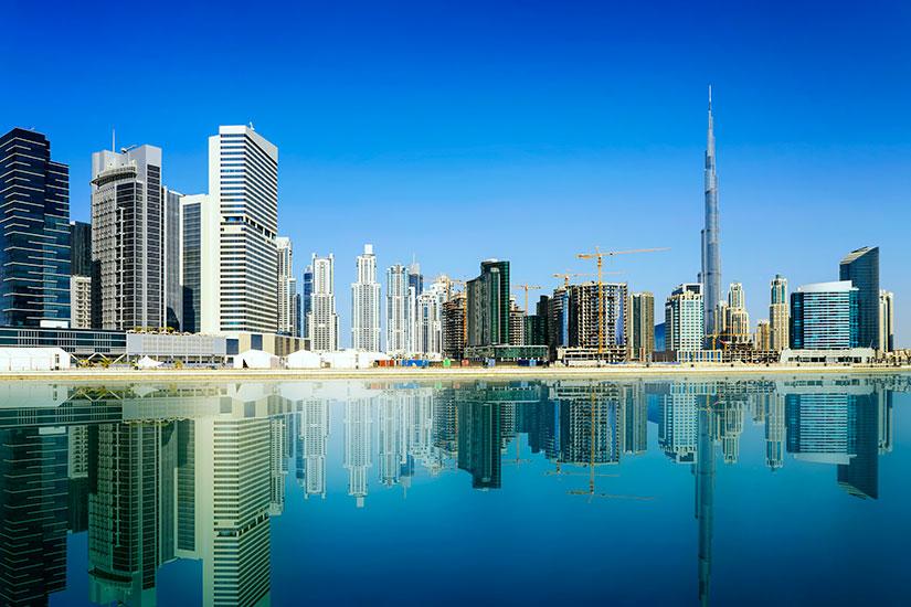 image Emirates Arabes Unis Dubai centre ville  it
