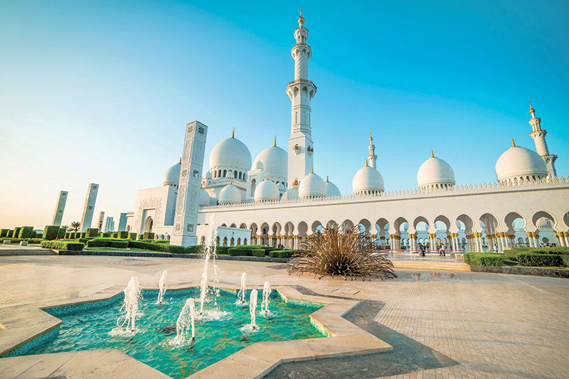 image Emirats Arabes Unis Abu Dhabi grande mosquee Cheikh Zayed  it