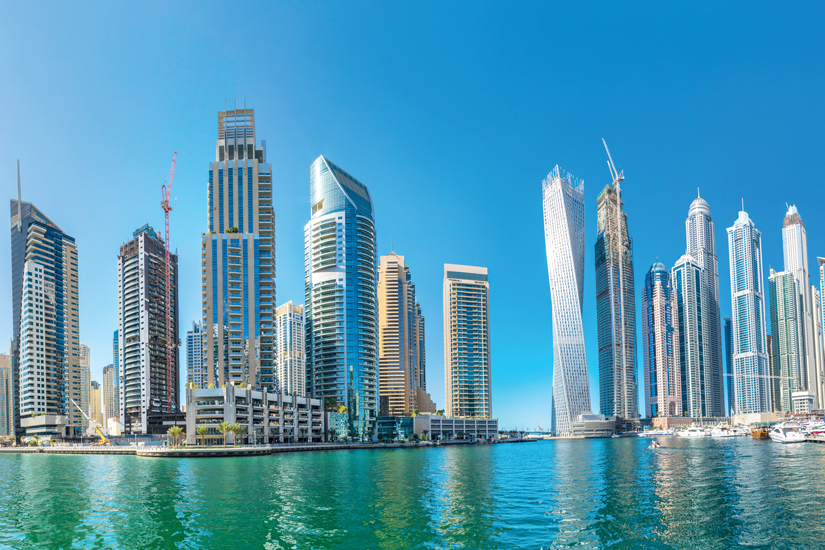 image Emirats arabes unis dubai marina panorama 11 as_106408400