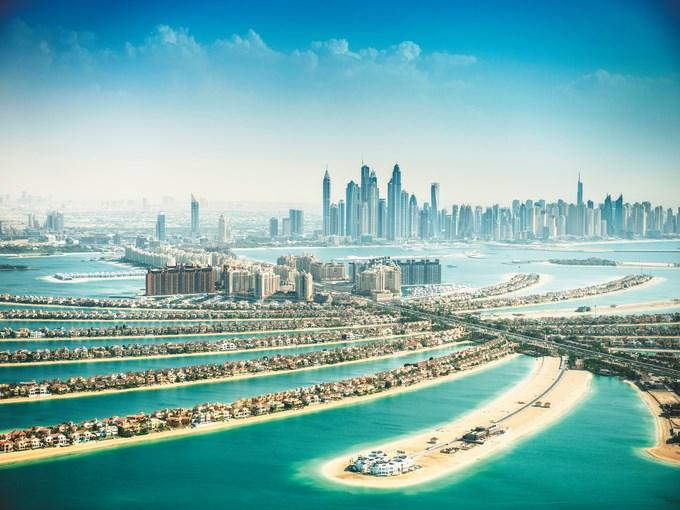 image Emirats arabes unis dubai vue ensemble