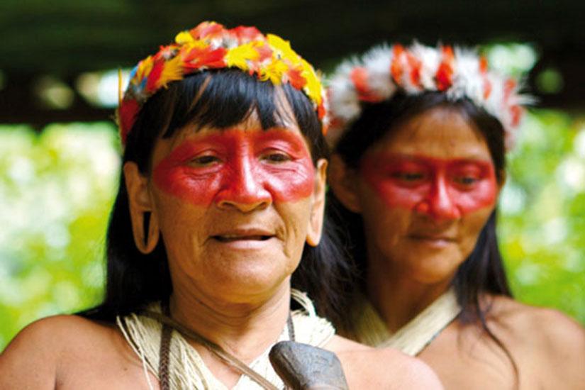 image Equateur amazonie tribu  fo not found