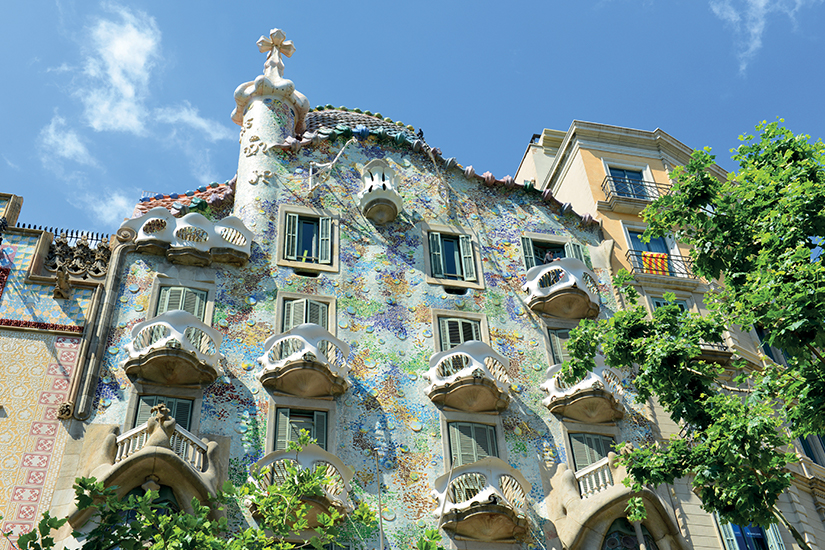 image Espagne Barcelone Casa Batllo de Gaudi as_58356445