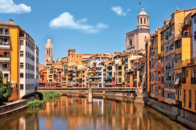 image Espagne Catalogne Gerone quartier juif historique  fo