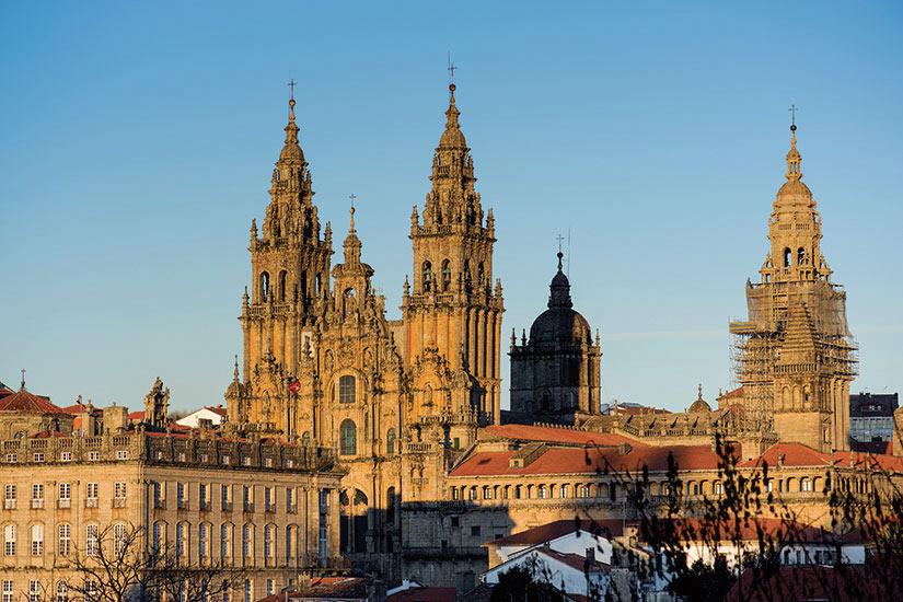 image Espagne Compostelle cathedrale de Santiago  fo