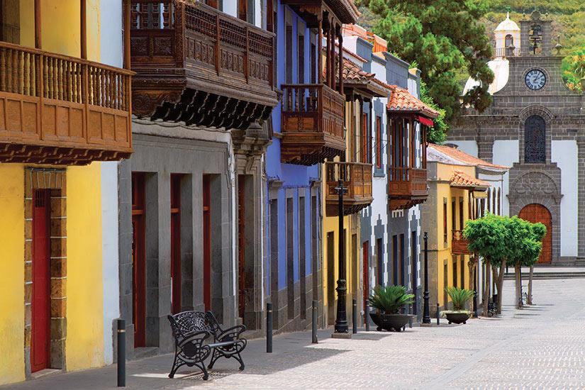 image Espagne Gran Canaria Teror facades colorees  it