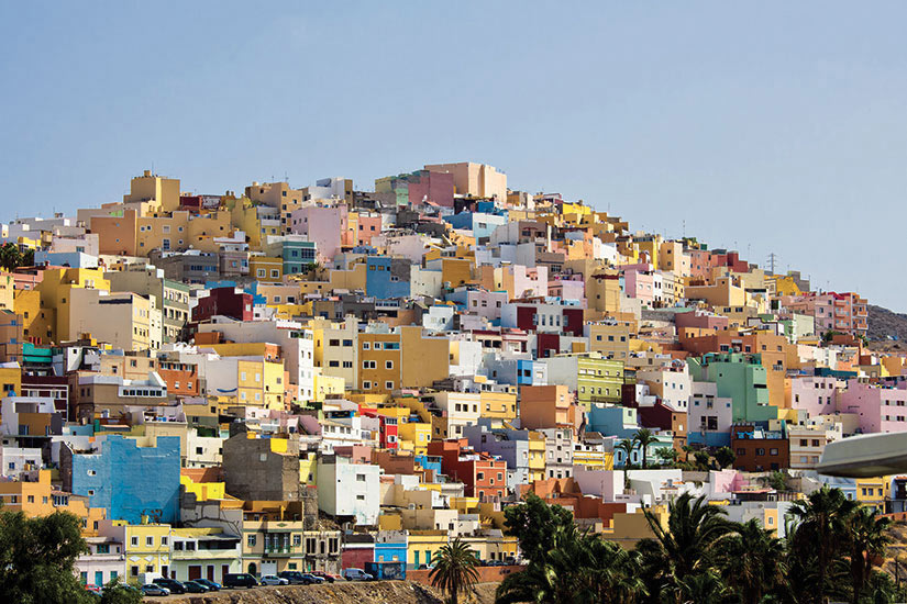 image Espagne Grande Canarie Las Palmas Panorama  fo