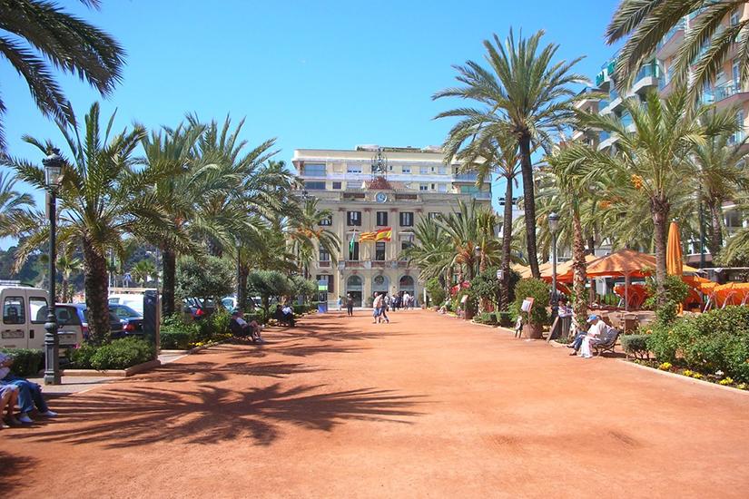 image Espagne Lloret de mar centre