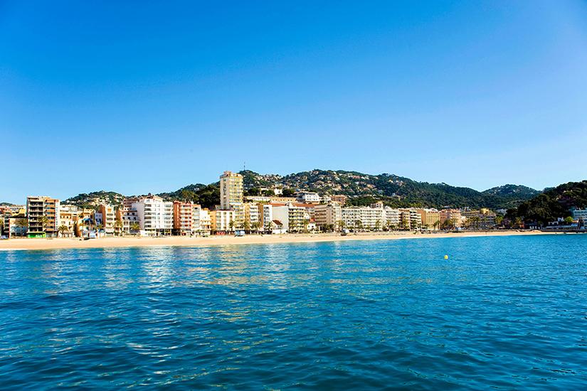 image Espagne Lloret de mar plage