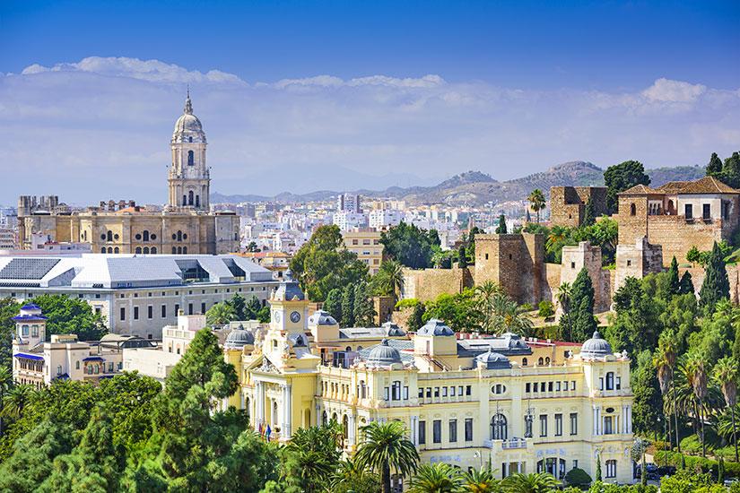 image Espagne Malaga panorama  fo