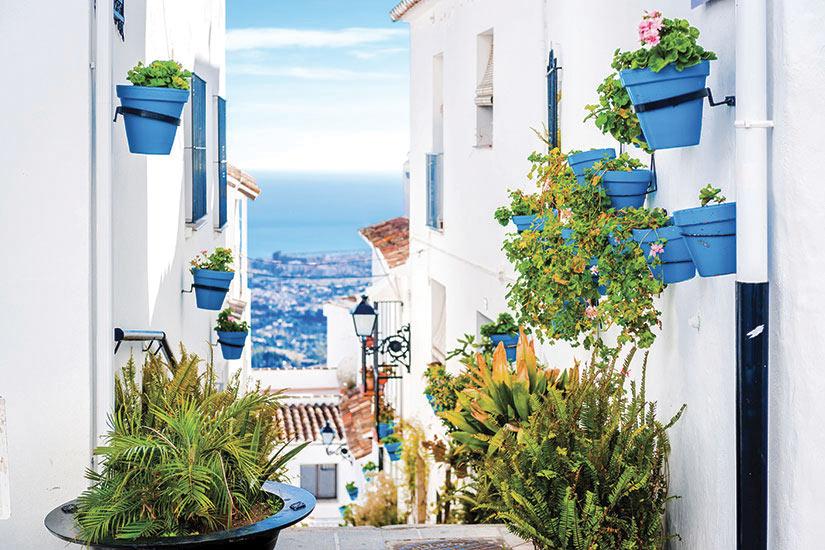 image Espagne Mijas Rue pittoresque  it