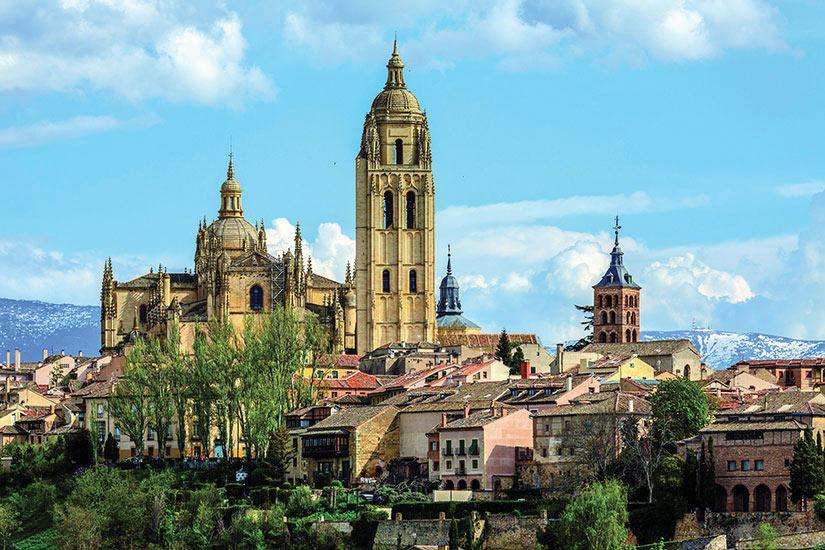 image Espagne Segovie Cathedrale de Segovie  it