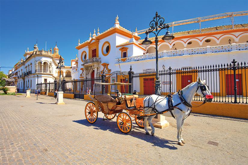image Espagne Seville Caleche pres des arenes 46 as_158627308