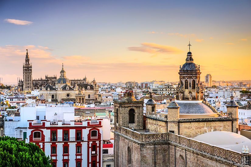 image Espagne Seville Panorama  it