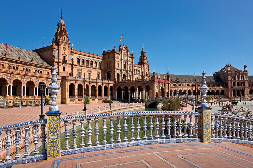 image Espagne Seville Place d Espagne is_461127457