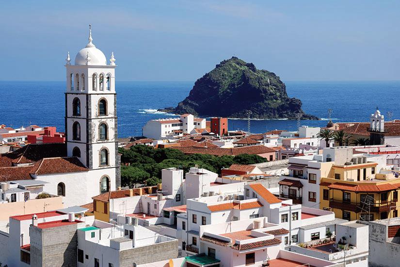 image Espagne Tenerife Garachico Panorama