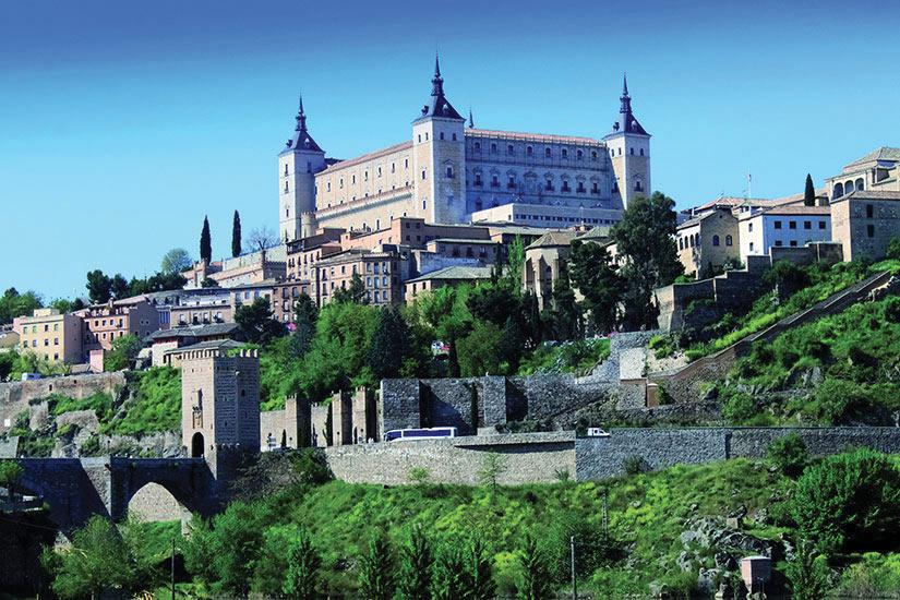 image Espagne Tolede Chateau  it