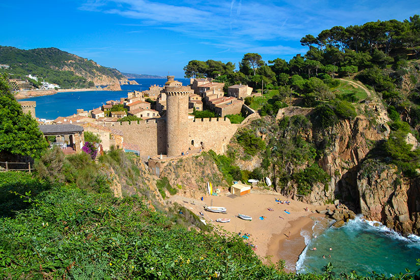 image Espagne Tossa Mar Gerone  it