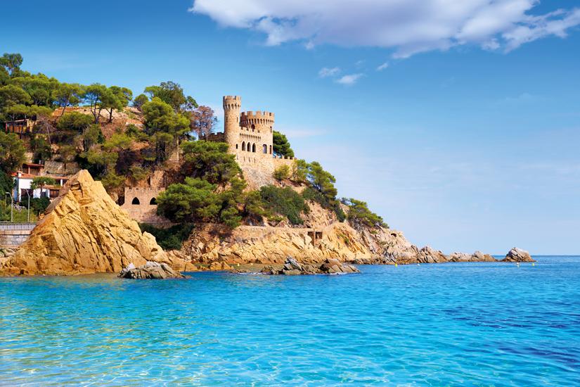 image Espagne catalogne costa brava lloret mar castell plaja plage sa caleta 58 fo_96636949