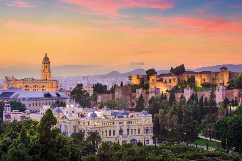 image Espagne malaga costa del sol skyline vieille ville 88 as_117598013