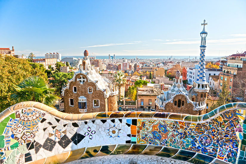 image Espgne Barcelone Parc Guell  fo