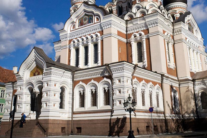 image Estonie Tallinn Cathedrale Alexandre Nevski  it