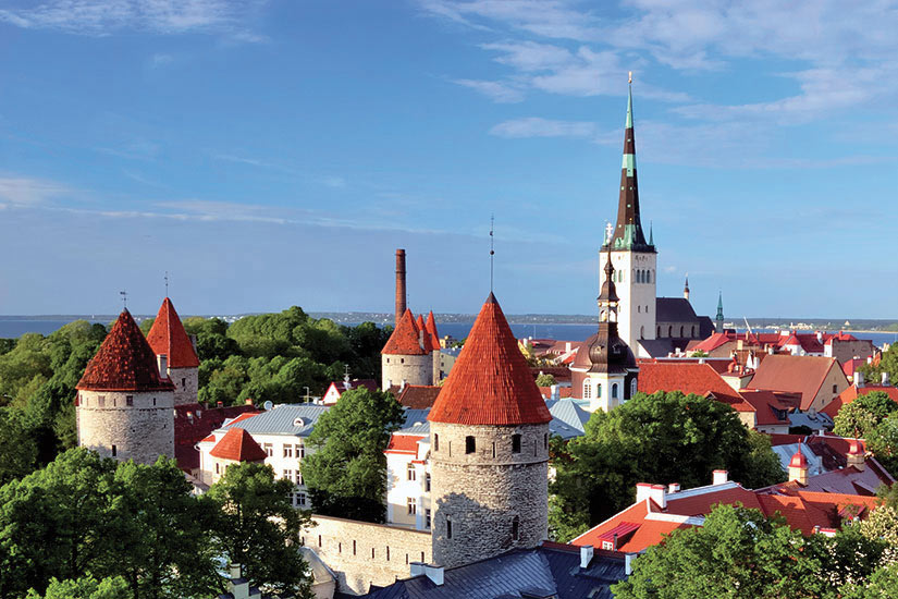 image Estonie Tallinn Panorama  it