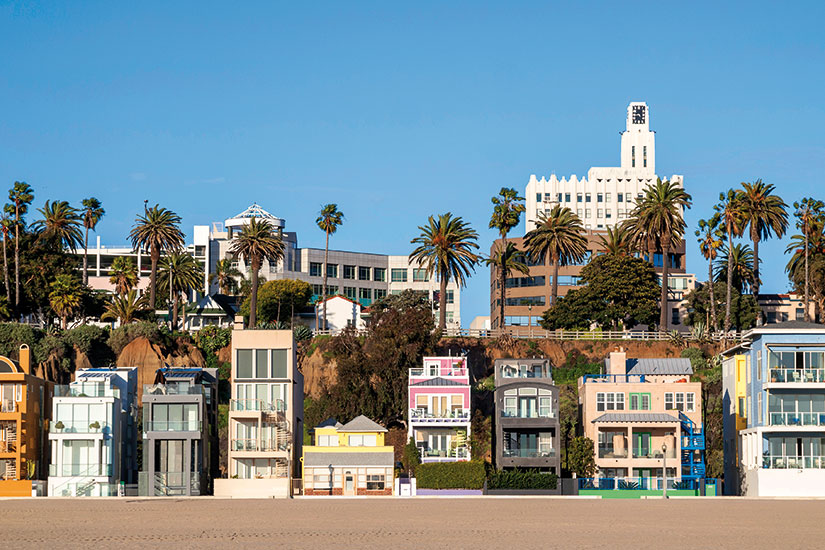 image Etats Unis Los Angeles maisons plage  it