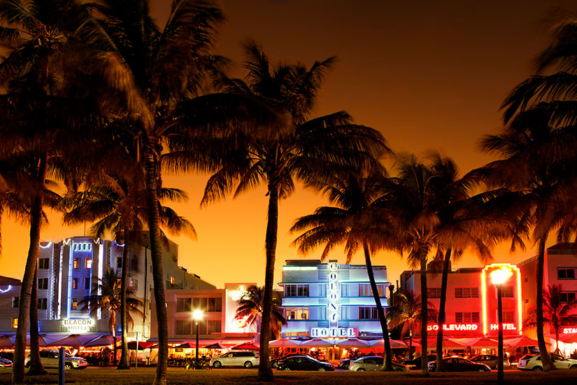 image Etats Unis Miami Ocean Drive  it