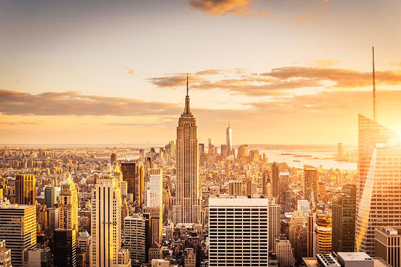 image Etats Unis New York Empire State Building  it