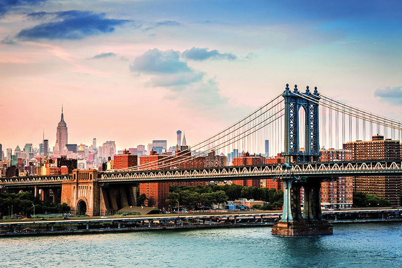 image Etats Unis New York Pont de Manhattan  it