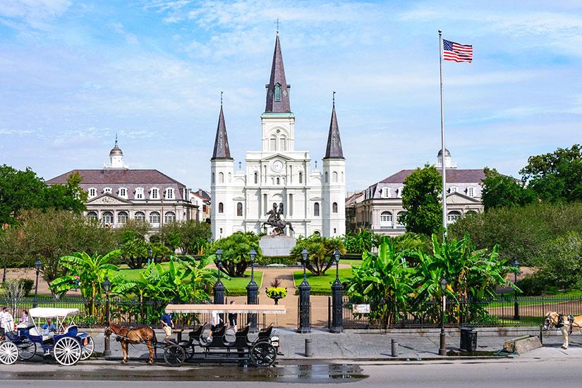 image Etats Unis Nouvelle Orleans Jackson Square  fo