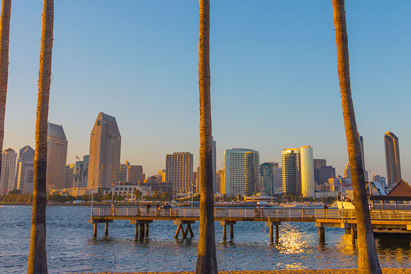 image Etats Unis San Diego Horizon urbain  it