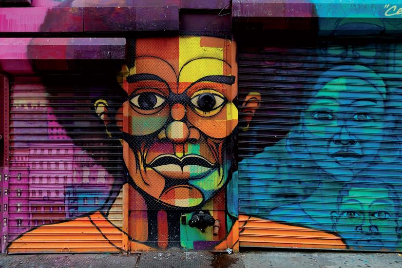 image Etats Unis new york harlem grafitti 95 fo_5760244
