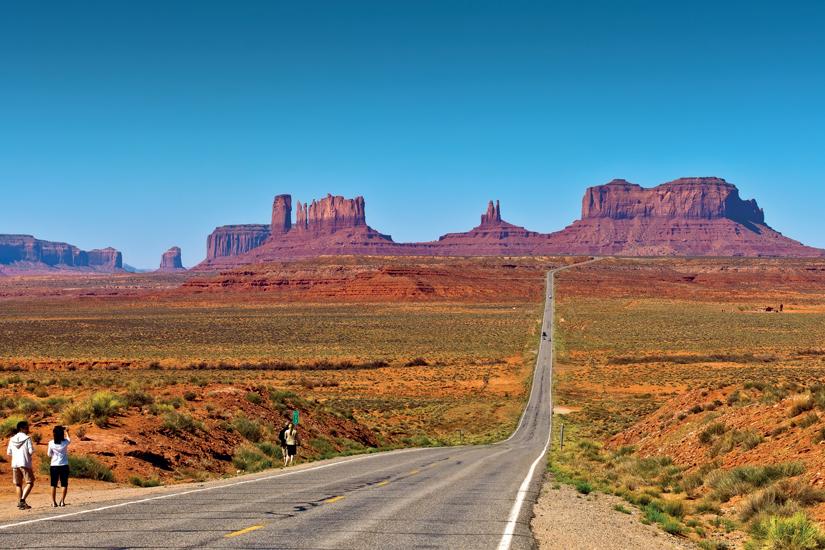 image Etats unis arizona route vers monument valley 93 fo_64099618